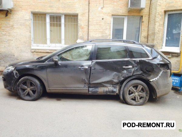 Продам а/м Mazda CX-9 битый